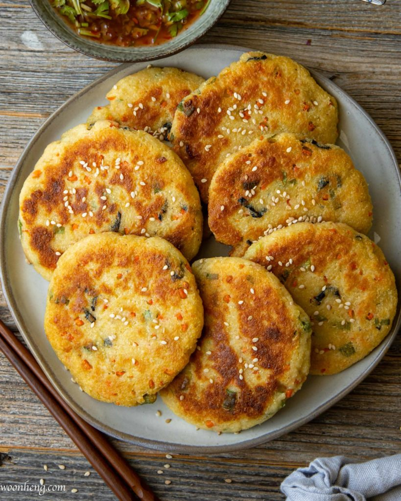 soybean-pulp-okara-patty